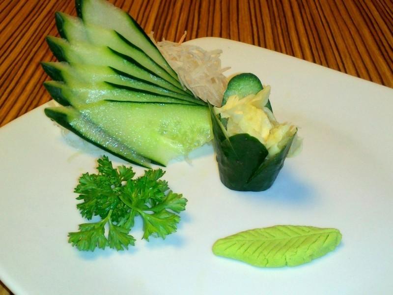 Gengibre e wasabi