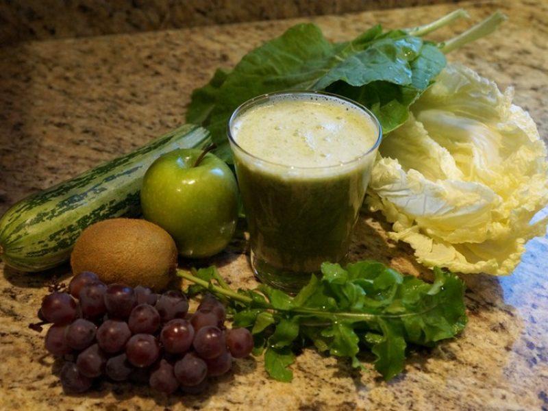 Suco verde para aumentar a imunidade