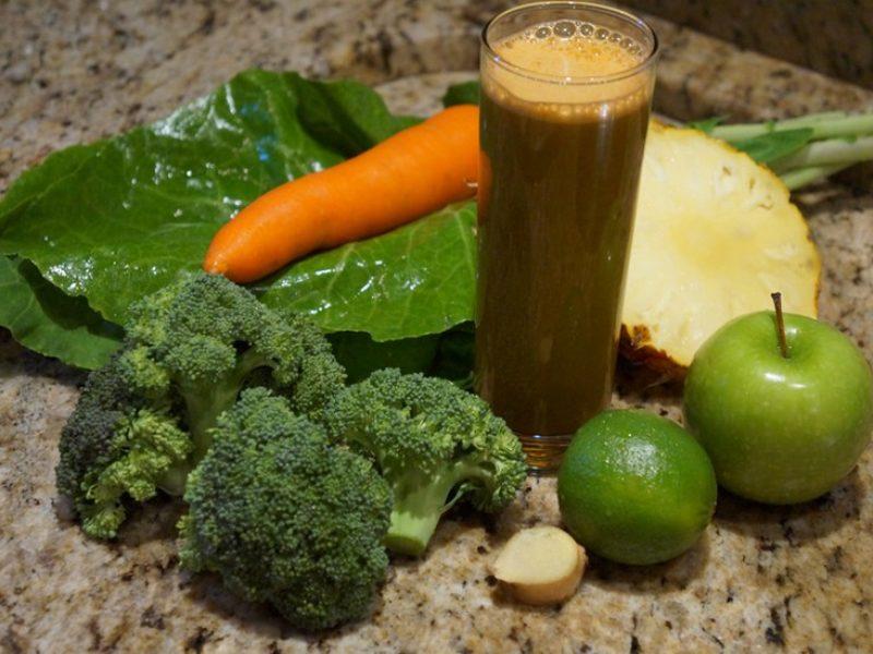 Suco verde para acelerar o metabolismo
