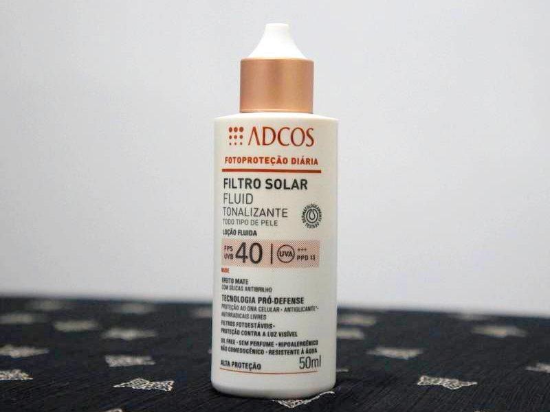 Filtro solar tonalizante Adcos