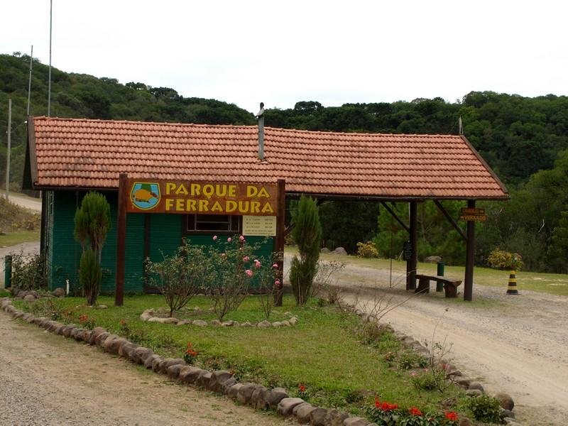 Parque da Ferradura placa