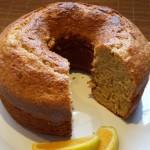 Receita de bolo integral de laranja