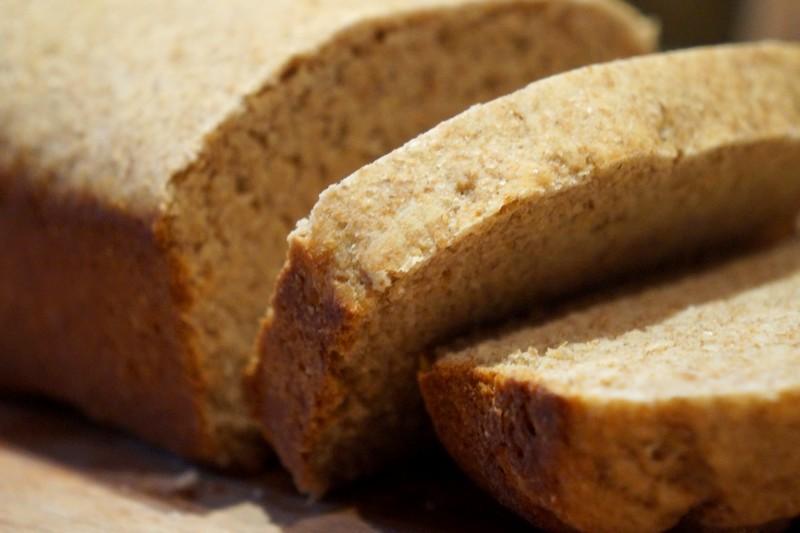 Receita de pão de soja integral