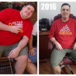 Conseguiu emagrecer 40kg apenas com força de vontade e determinação