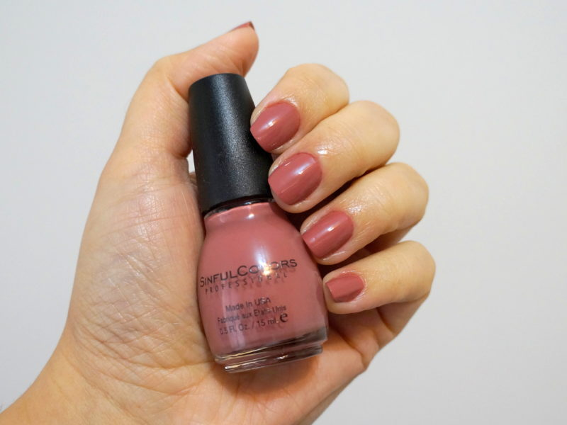 Esmalte da semana | Vacation Time | SinfulColors